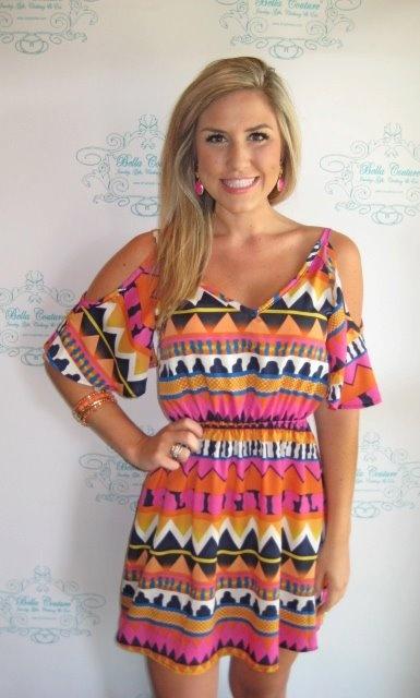 yesBeach Dresses, Summer Dresses, Prints Dresses, Dresses Fashion, Cute Dresses, Tribal Prints, Tribal Patterns, Dreams Closets, Tribal Dresses