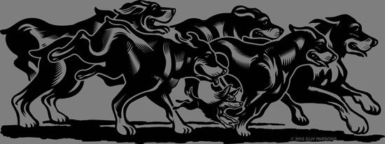 Running with the big dogs, Adobe Illustrator