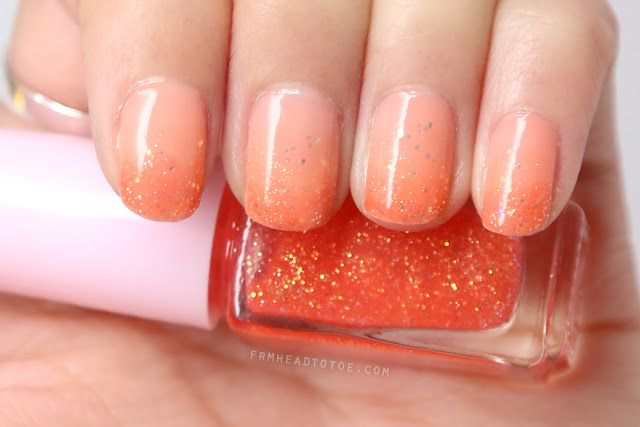 Manicure Monday: Etude House Juicy Cocktail Gradation Nails in Screwdriver Orange