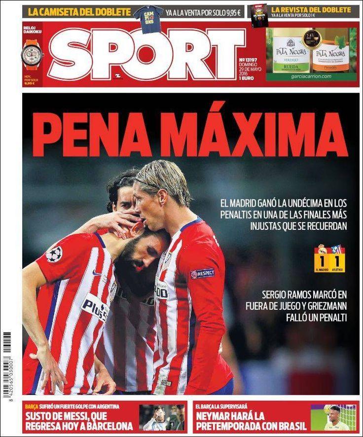 Final Champions 2016: La Undécima, en las portadas de todo el mundo   Marca.com
