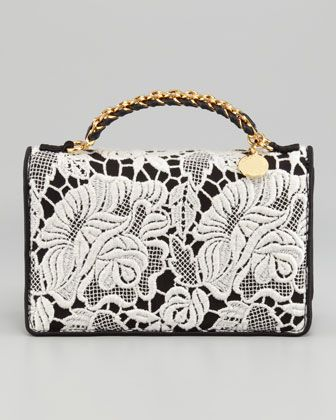Grace Lace Clutch by Stella McCartney at Bergdorf Goodman.Just lovely