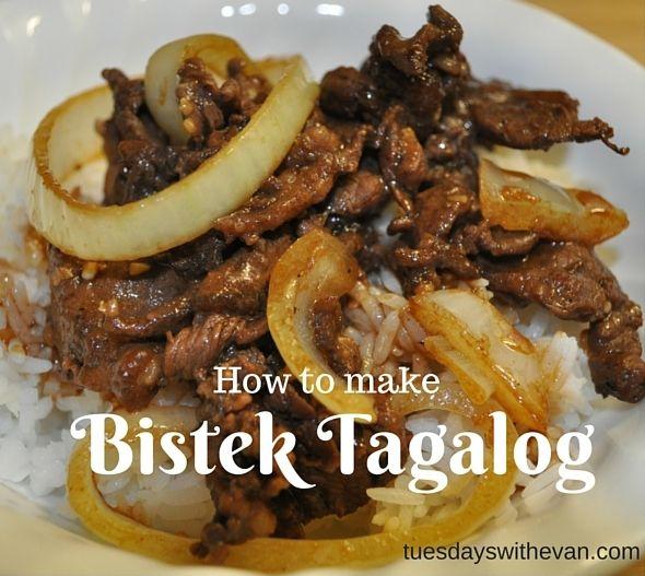 How to Make | Bistek Tagalog - beef #FilipinoFood