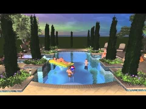 1000 images about 3d pool design portfolio on pinterest for 3d pool design