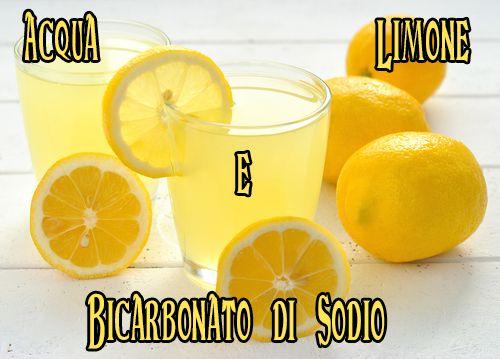 Acqua, Limone e Bicarbonato di Sodio
