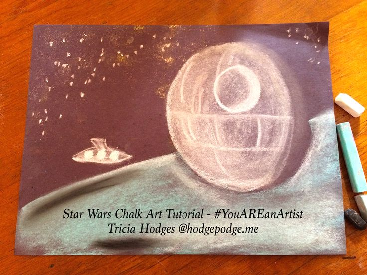52 best space art images on pinterest space chalk for Space art tutorial