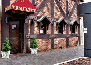 Tumulty's one of our favorite places to eat when we were in college in New Brunswick.  A Rutgers institution :)