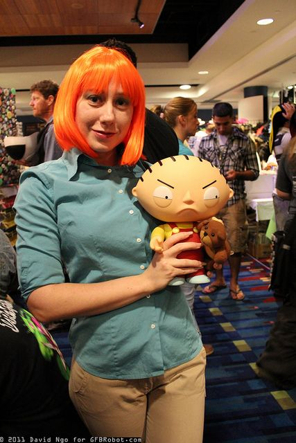 lois griffin and stewie griffin by dtjaaaam via flickr