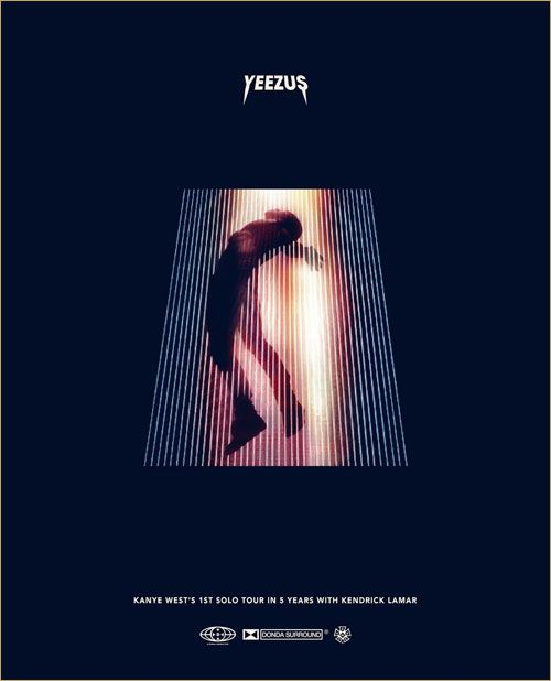 Money Team Mag  Kanye West Announces New 'YEEZUS Tour' Dates, No Kendrick Lamar