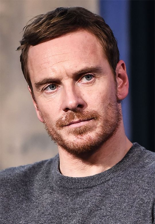 Michael Fassbender Is Beautiful : Michael Fassbender appears to promote 'Assassin's Creed' during the AOL BUILD Series at AOL HQ on December 12, 2016 in New York City.