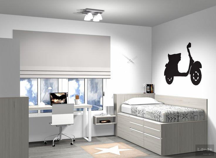 212 best dormitorios juveniles youth bedroom - Almacenaje dormitorio ...