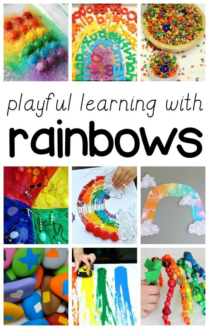 25+ Playful Learning Rainbow Activities for Kids