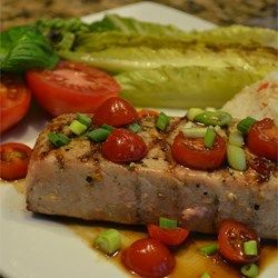 Grilled Tuna with Fresh Horseradish - Allrecipes.com