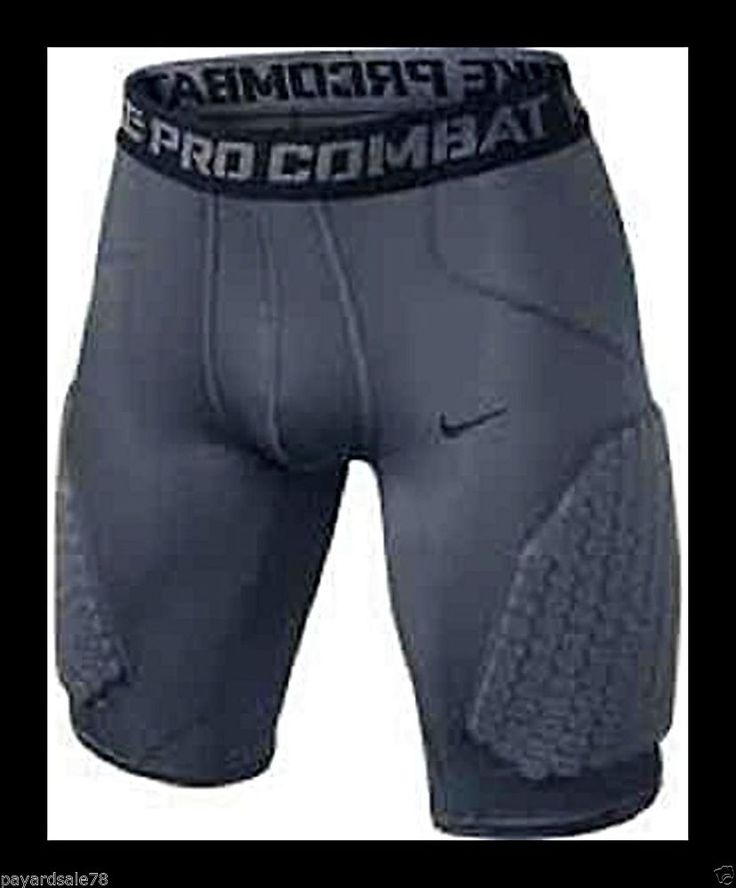 MEN'S SIZE 2XL NIKE PRO COMBAT HYPERSTRONG PADDED COMPRESSION BASKETBALL SHORTS  #NIKE #Athletic