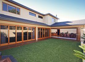 Timber bifold doors, Perth