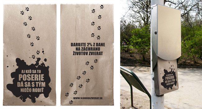 Ad for Sloboda Zvierat