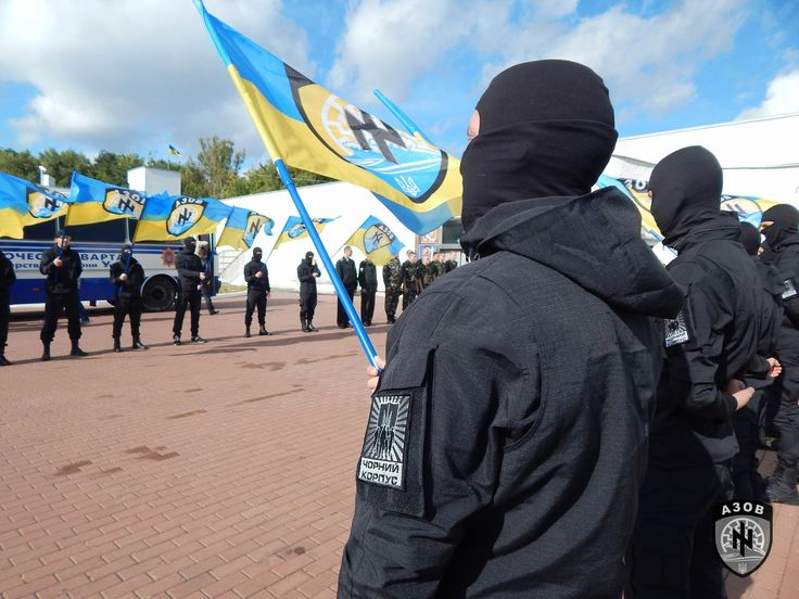 The Azov Battalion is a Neo-Nazi private army in Ukraine who is supported by NATO, President Obama, David Cameron, and Angela Merkel.