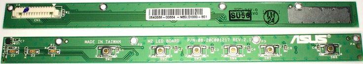 Asus Ergo Microlite XL LED Button Board 08-20C001217