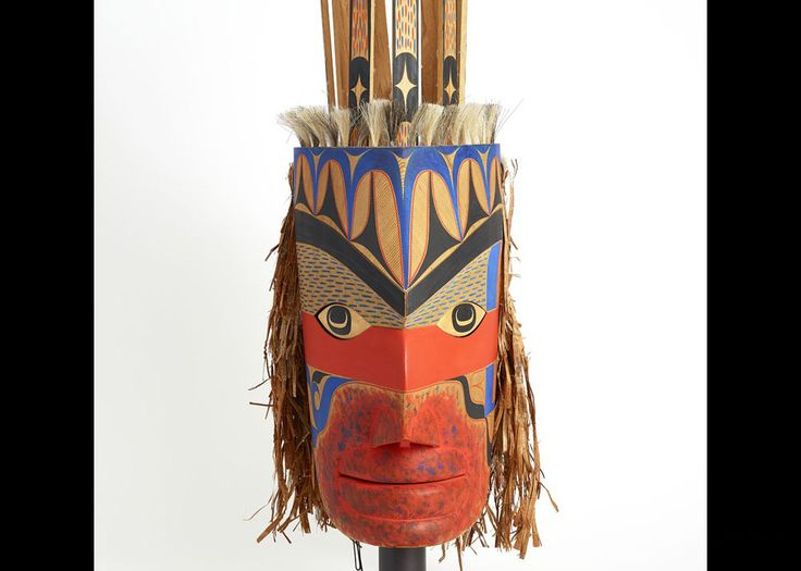 Art Thompson (1948-2003), Mask Representing Warrior, 1989,
