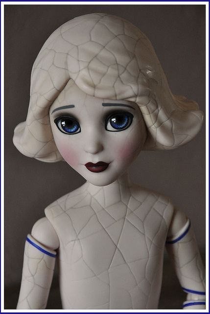 China Girl (Disney) doll repaint by Clockwork_Angel.