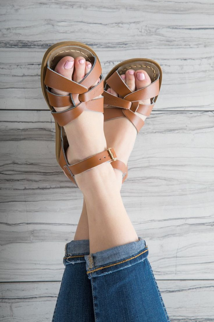 Salt Water Sandal in Tan | Piper & Scoot Summer Shoes