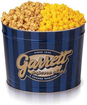 Garret popcorn Chicago mix Note: The Best Popcorn EVER! An Absolutely Amazing Mix of Carmel & Cheese Popcorn! The two flavors compliment one another wonderfully!