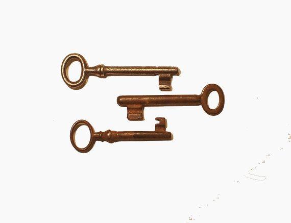 vintage keys/skeleton keys/iron skeleton by AndrasVintagelane