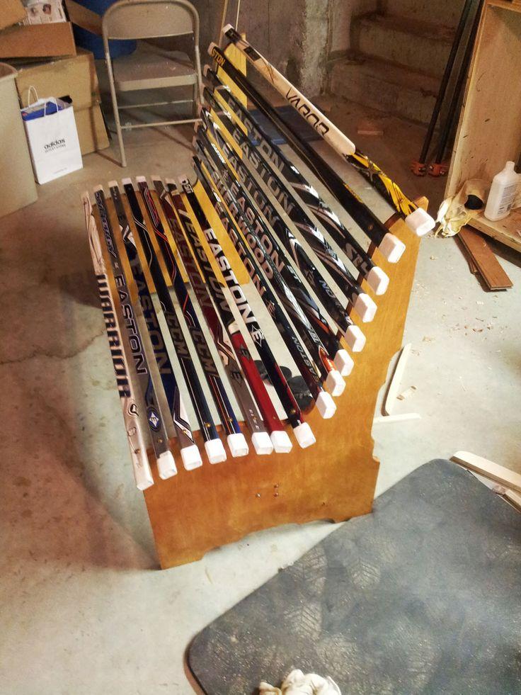 Project: Broken Hockey Stick Bench | Dan Zehner