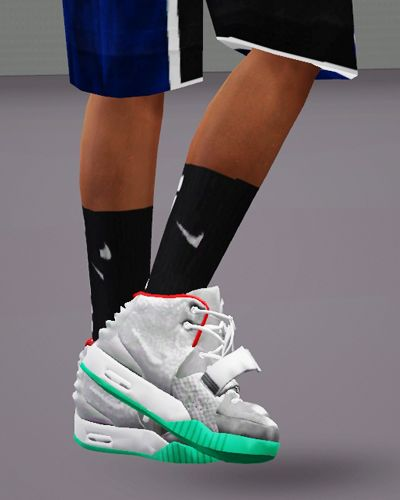 Yeezy 2 By Chunkysims Sims 4 Cc Shoes Sims 4 Children