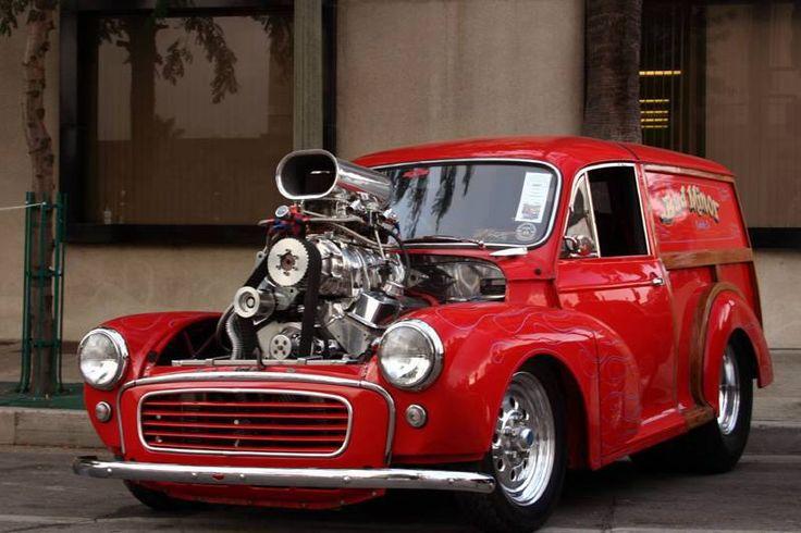 Morris 1000 van .... with a twist !!