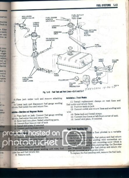 jeep cj7 fuel line diagram