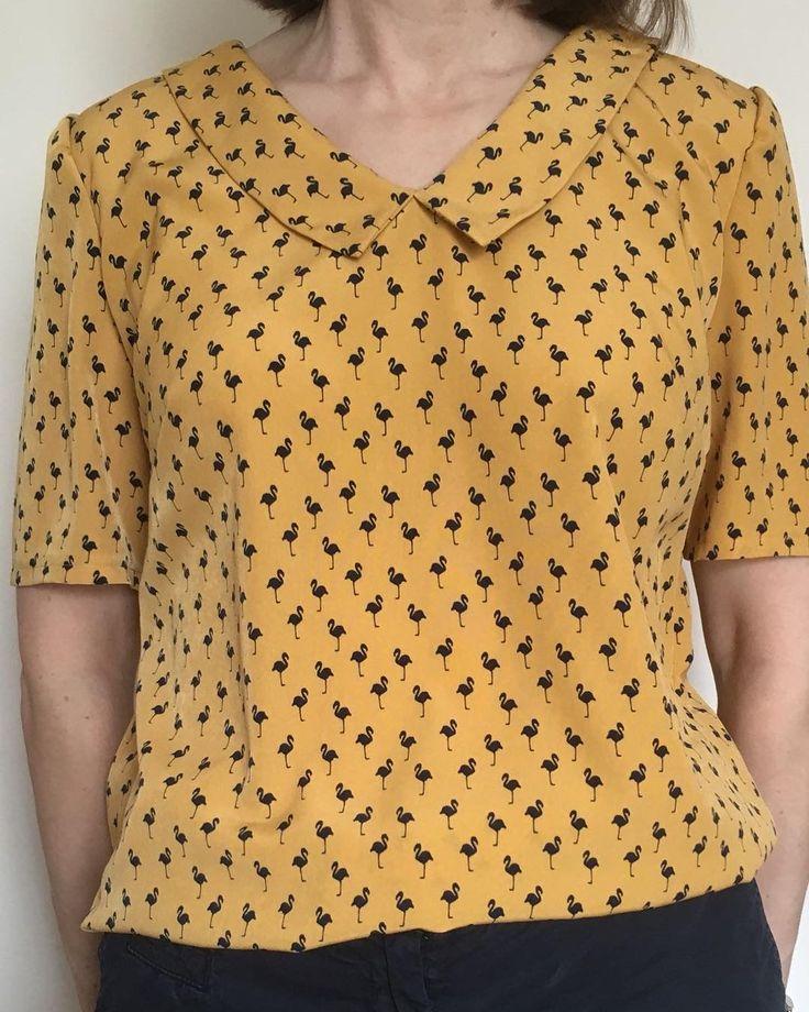 23 besten Susie Blouse Sewing Pattern Bilder auf Pinterest ...
