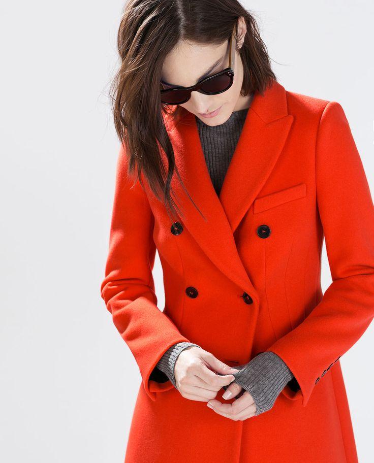 Fresh 21 best Zara Outerwear 2014 images on Pinterest | Zara women  XO92