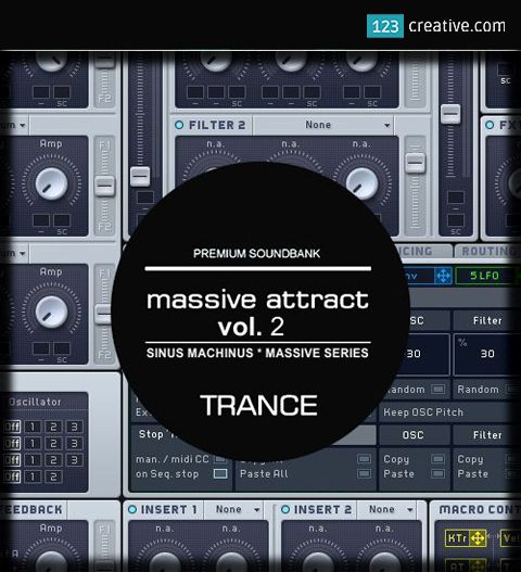 "► ""Massive Attract Vol2. #presetsforMassive synth for all TRANCE, PSYTRANCE, TECHNO, EDM producers. The soudn bank is inspired by popular Trance producers in the world. Download at: https://www.123creative.com/electronic-music-production-massive-presets/1456-massive-attract-vol-2-trance-presets-for-ni-massive.html"