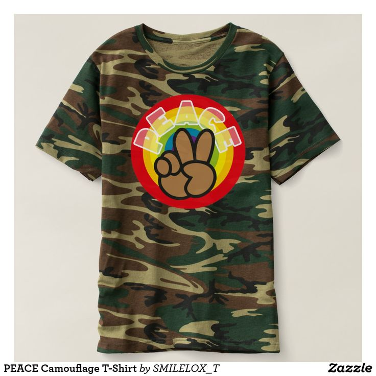 PEACE Camouflage T-Shirt