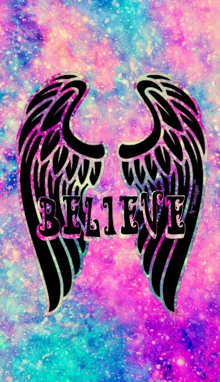 """Believe"" galaxy wallpaper I created!"