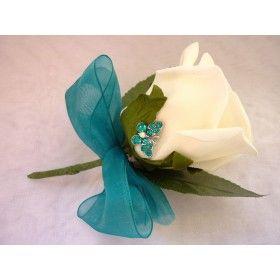 Turquoise buttonhole