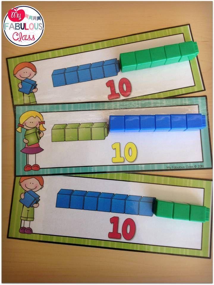 Unifix Math Centers - Sums of 10