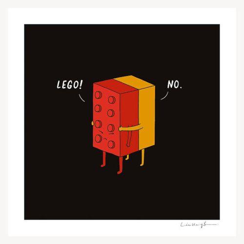 I Will Never Lego - Jay Mug