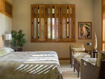 Brown Wood Plantation Shutters Design Ideas, Pictures, Remodel and Decor