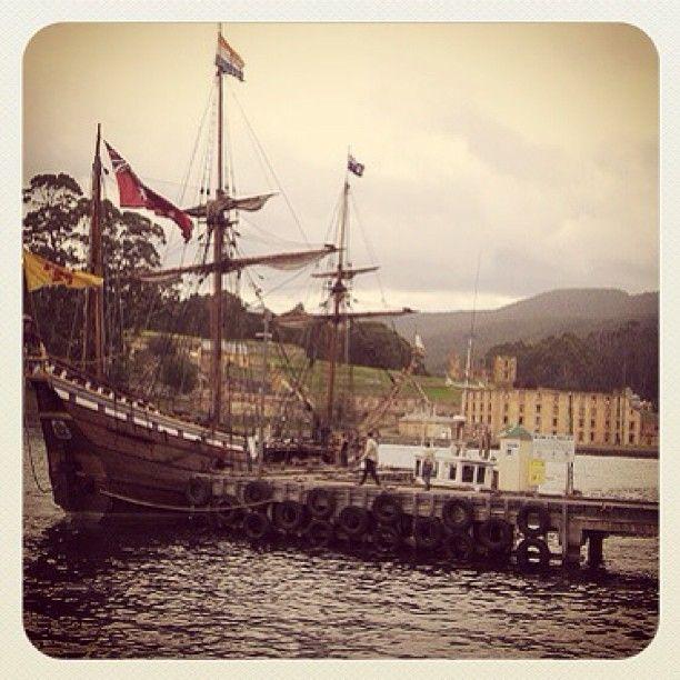 Tall Ship at Port Arthur