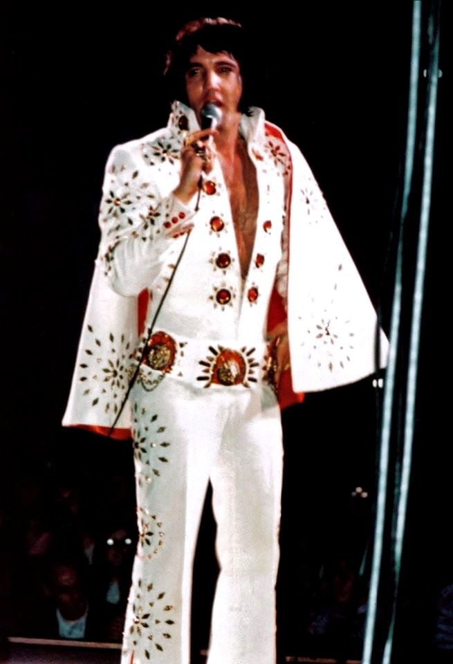 Elvis On Stage In Minneapolis In November 5 1971 In 2019