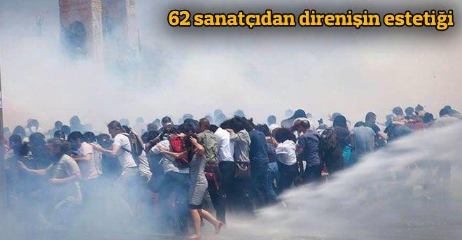 29/07/2013 02:00| 62 sanatçıdan direnişin estetiği Gezi Parkı direnişinin ilham verdiği bir grup sanatçı Moda Yoğurtçu Parkı'na cephesi olan Galeri Park Art'ta 'Direnişin Estetiği' sergisinde buluştu. http://www.radikal.com.tr/hayat/62_sanatcidan_direnisin_estetigi-1143785