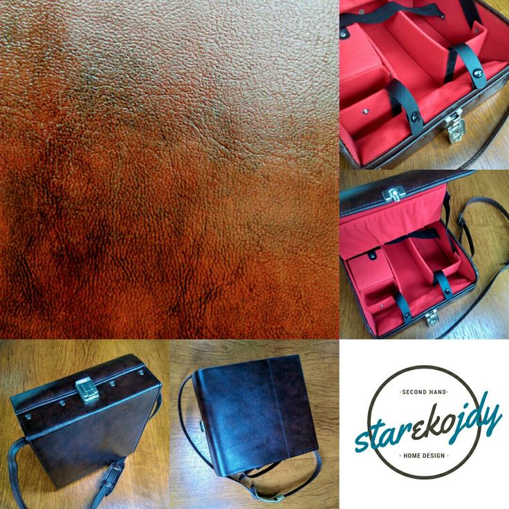 Refreshed 🛠 leather box, bag from 70s 💥 soon on starekojdy.com #leather #leatherbox #leathercase #70s #starekojdy #skóra #torbaskórzana #renovation #vintage #vintagecase #retro #vintagelife #vintagegadget #gadżety #okazja #leatherbag #leathergoods #leatheraccessories #leatherwork #leathercraft
