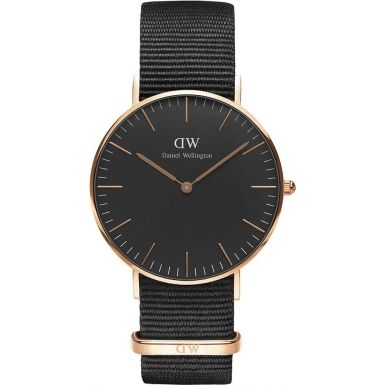 Daniel Wellington DW00100150 Classic Black Cornwall 36mm Watch