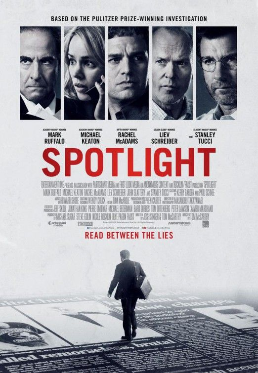 SPOTLIGHT... Yikes! Definitely a movie everyone should see.. Fantastic acting and a true story that affected so many people.