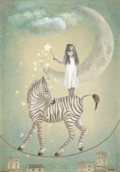 Whimsical art, illustration