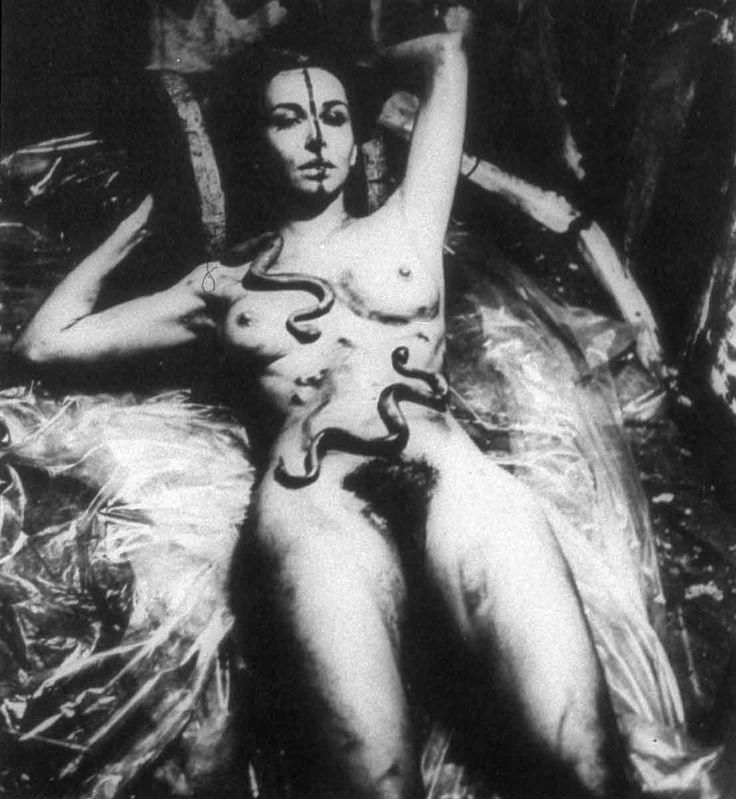 Carolee Schneeman, Eye Body, Dec. 1963, artist's studio, NY