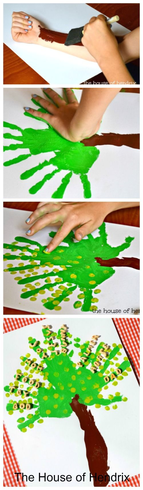 A Tree of Gratitude - Includes a character-building lesson for each step. I love when a craft strengthens not just fine motor skills but the heart as well.