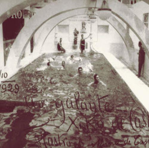 Primeiro registro da piscina da Vila Itororó, a primeira piscina privada de São Paulo!