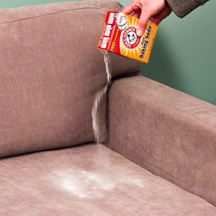 How To Clean Sofa With Baking Soda With Images Clean Sofa